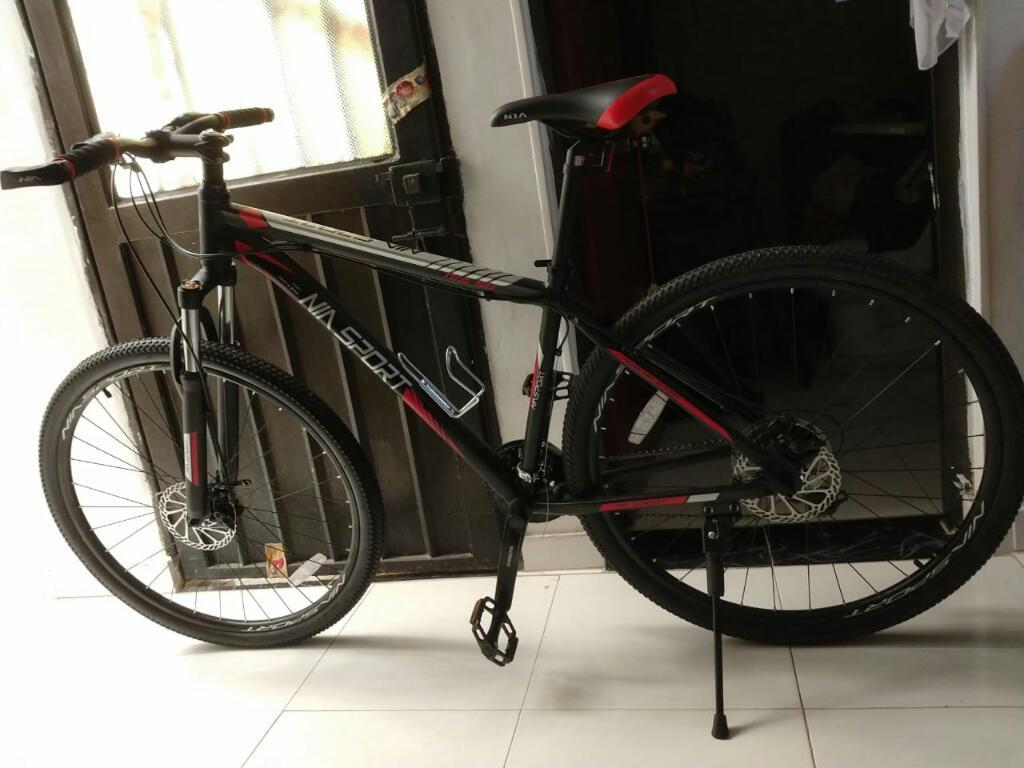 Bicicleta Todo Terreno Nueva con Bloqueo