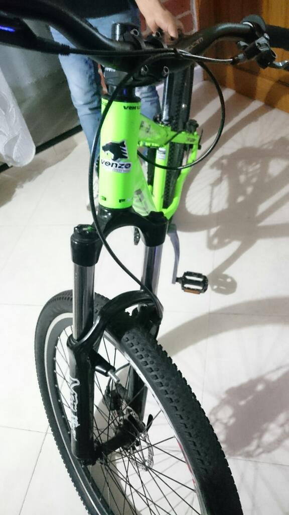 Bicicleta Venzo Como Nueva