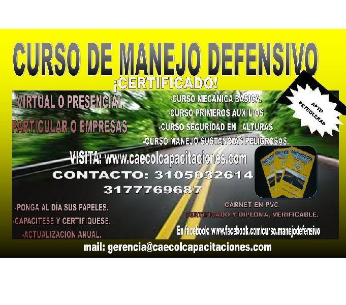 CURSO OPERADOR 4X4 OPERADOR SERVICIO PUBLICO