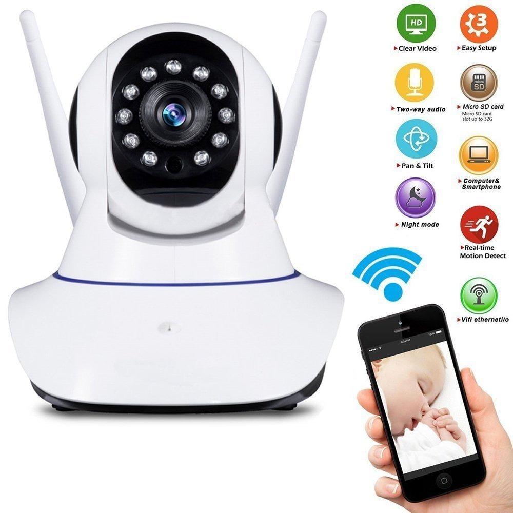 Cámara Ip Seguridad Wifi Smart Net Ios / Android / Windows
