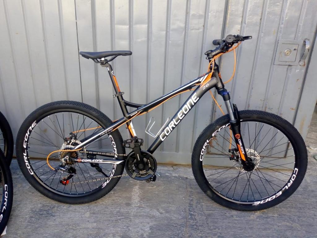 Ganga Bicicleta Aluminio Grupo Shimano
