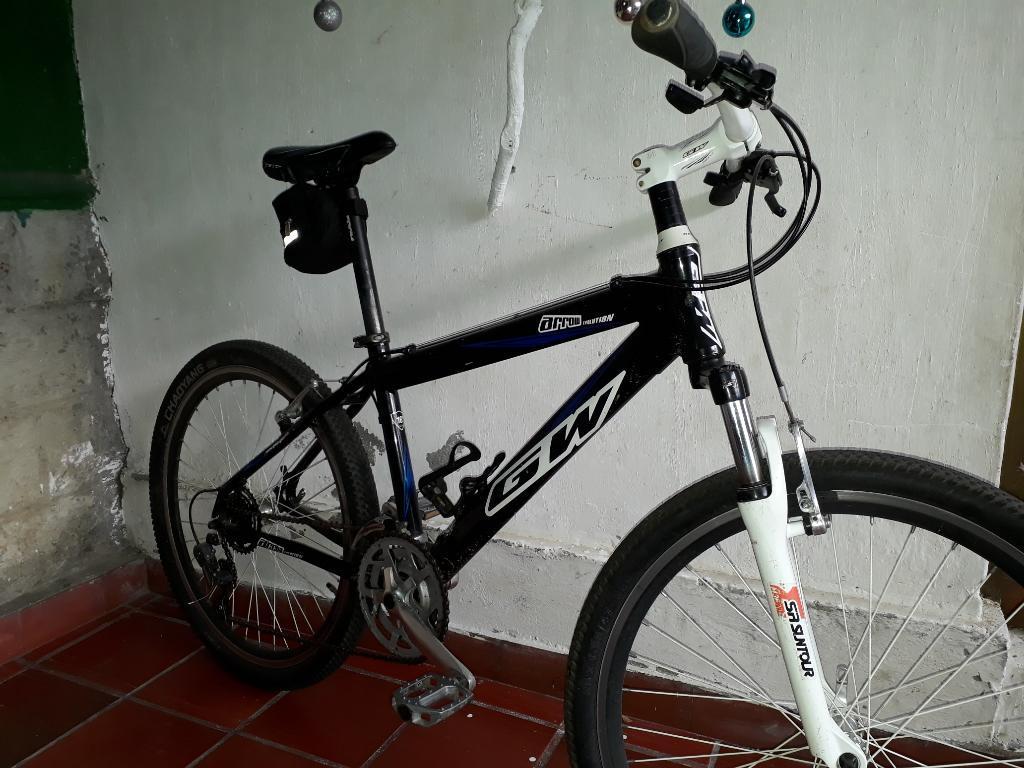 Hermosa Bicicleta Gw, Marco en Aluminio!