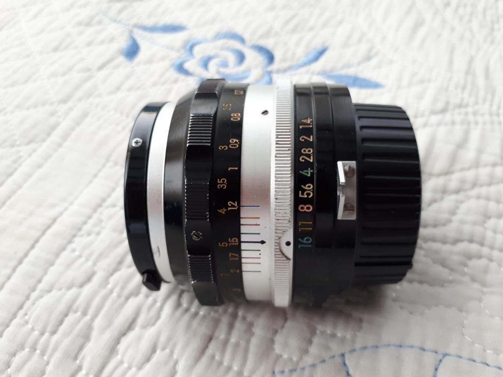 Lente Nikon 50mm F.1.4 GRAN APERTURA PROFESIONAL