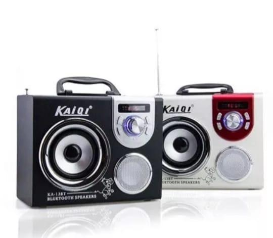 Parlante Reproductor Multimedia Portátil Bluetooth Ka13bt