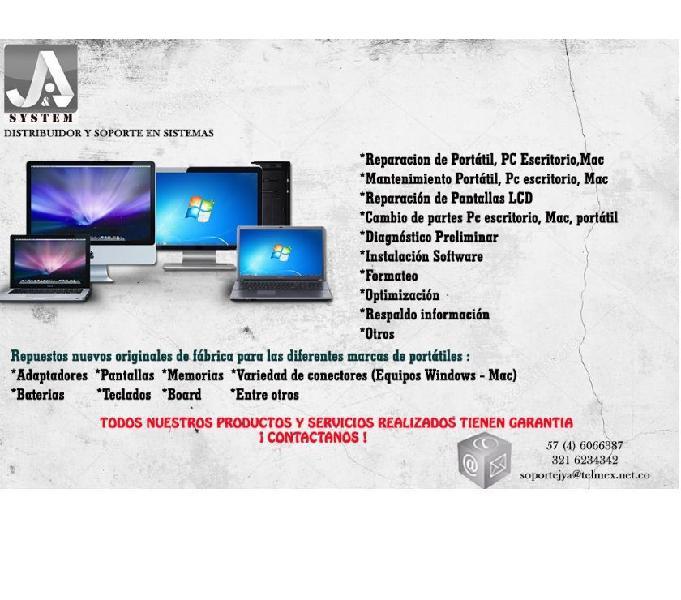 REPARACIÓN PC PORTATILMAC MEDELLÍN CELWP:3216234342