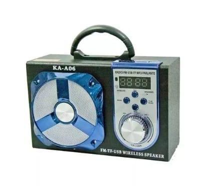 Radio Portatil Kaa06 Bluetooth