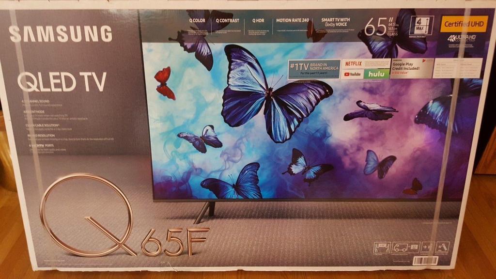 Samsung Q65F 65 pulgadas QLED Smart TV