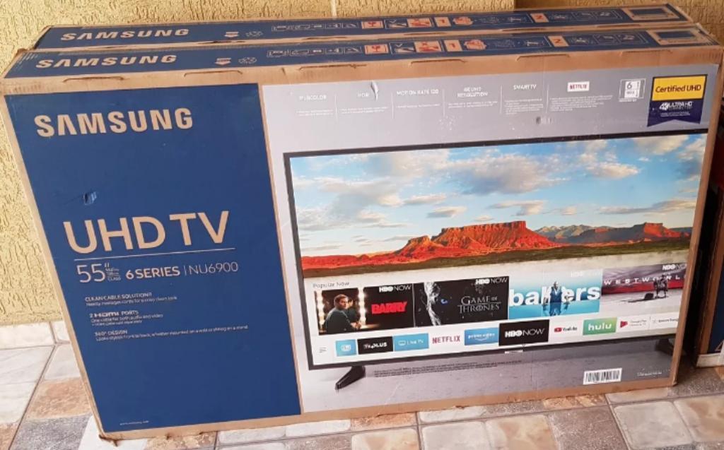 Samsung Smart Tv 55 Pulgadas Uhd 4k