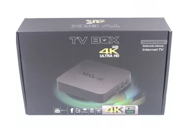 TV BOX OTT TV, 2GB, 16GB. ANDROID 7.1, NETFLIX, CAJA
