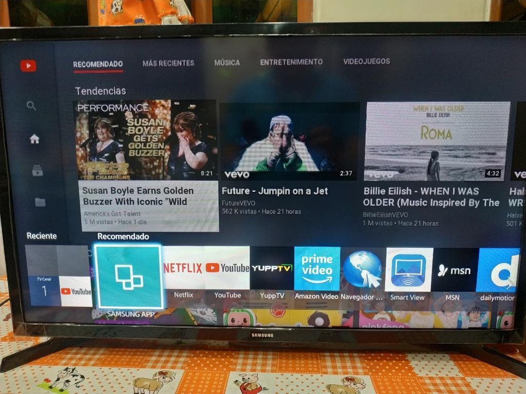 Vendo Smart Tv Samsung 32