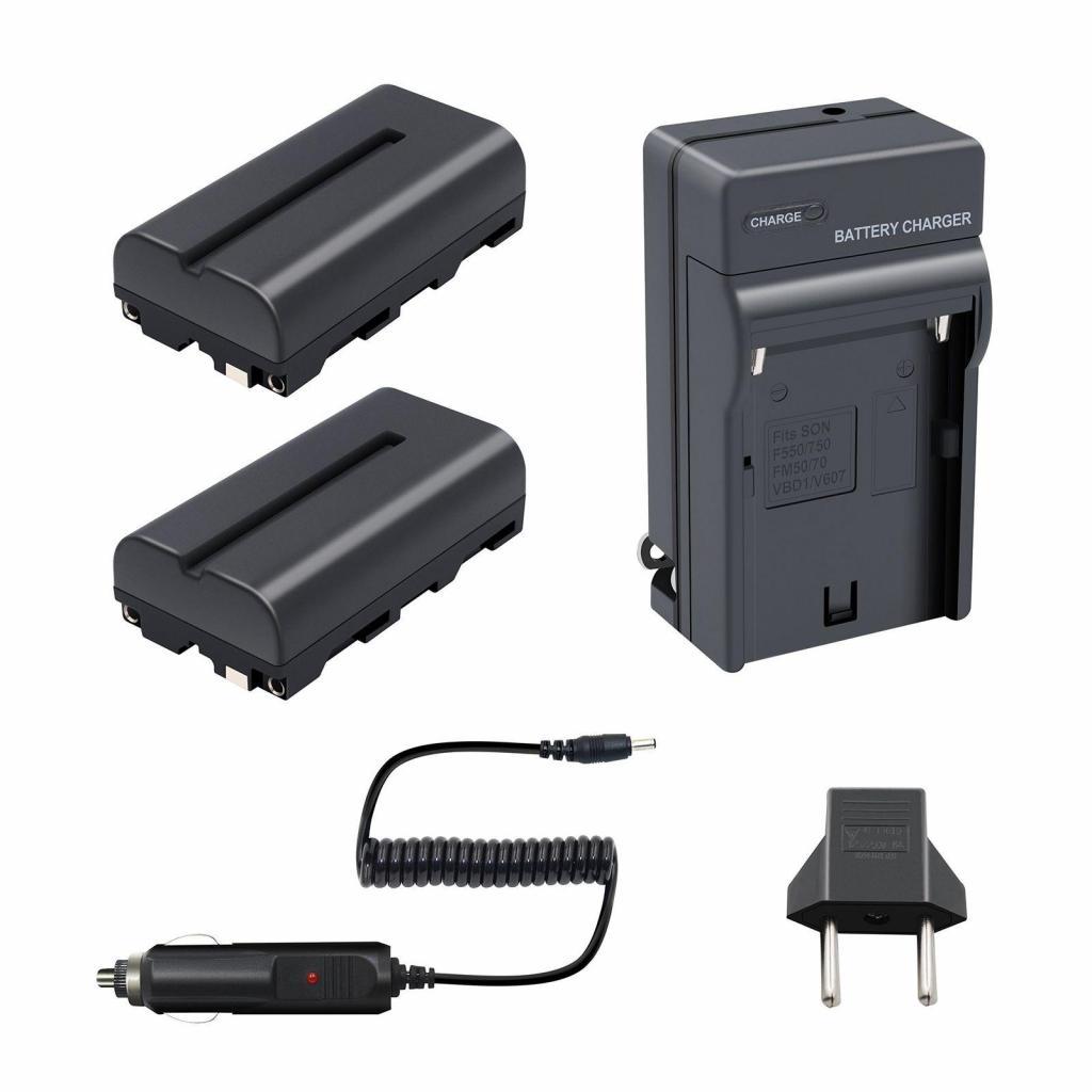 Dos Bateriasy un Cargador Sony NP F330 A F570 Entrega