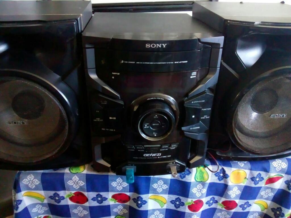 Equipo de Sonido Sony,usb,mp3,suena Dur