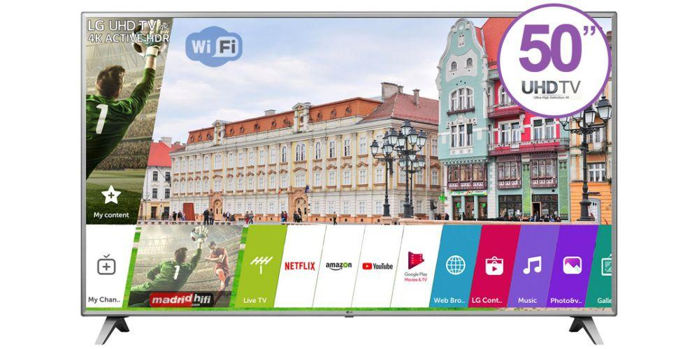 LG 50 UHD 4K SMART TV CON CONTROL MAGICO