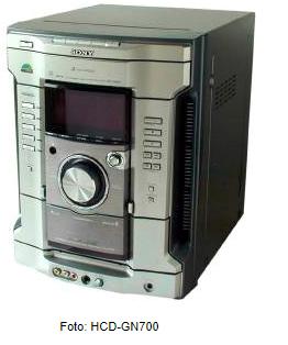 Mini HiFi Component System Sony HCD GN700