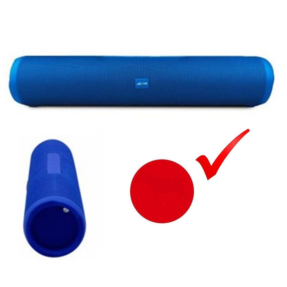 Parlante Bluetooth Micro SD Aux Usb Cilindrico Best