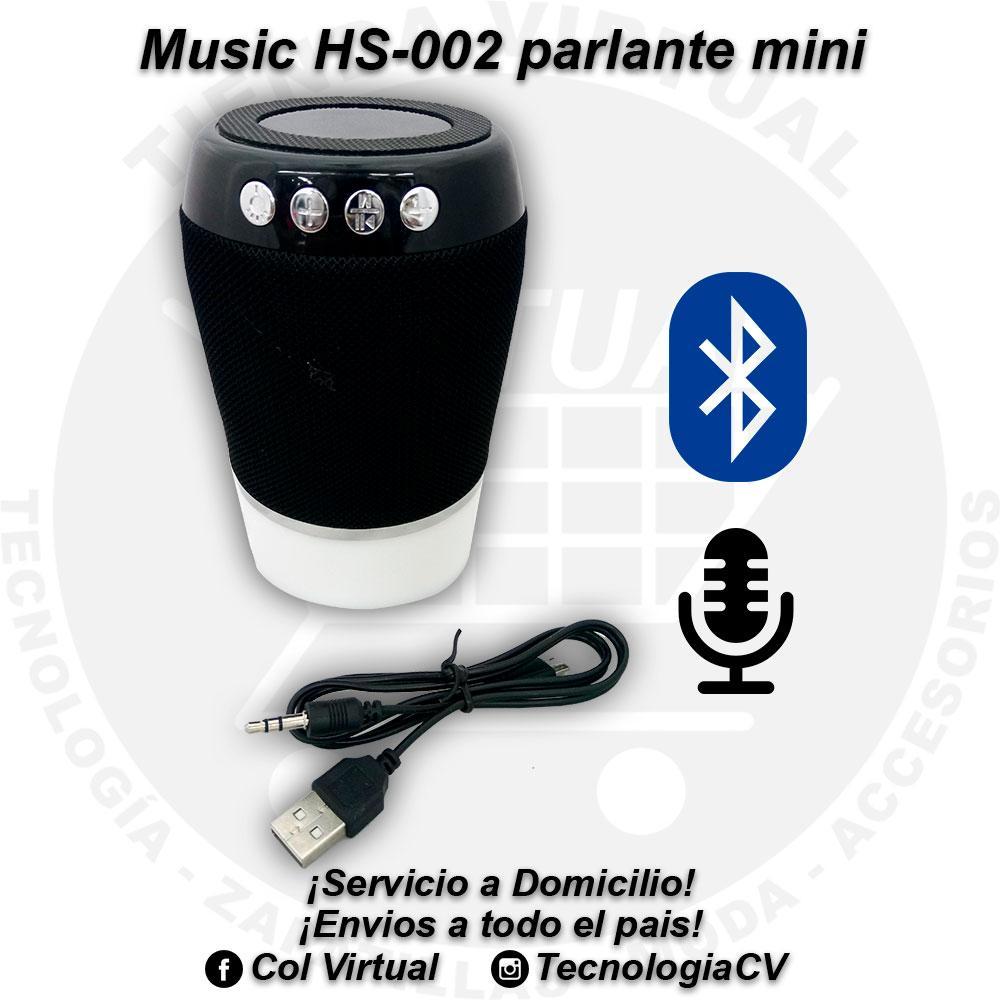 Parlante mini bluetooth Music HS002 R VP25K