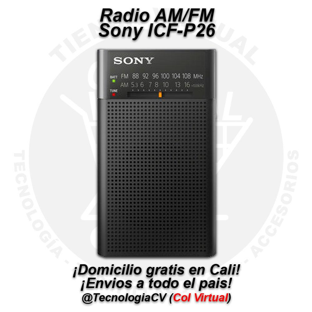 Radio AM/FM Sony ICFPM0V.P48 R