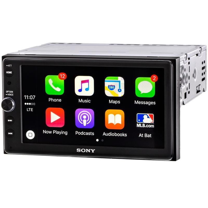 Radio Para Carro Sony Xav Ax100 Android Auto Car Play Nuevo