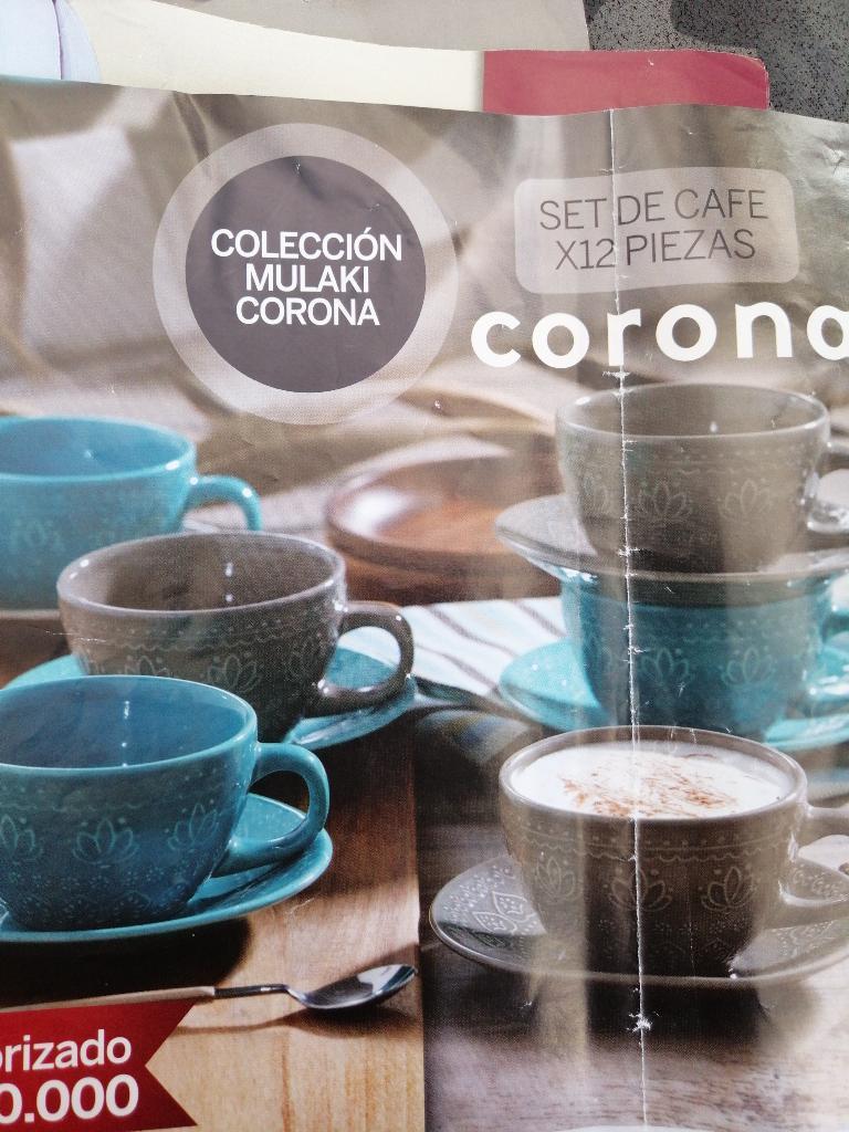 Set de Café Corona 12 Piezas