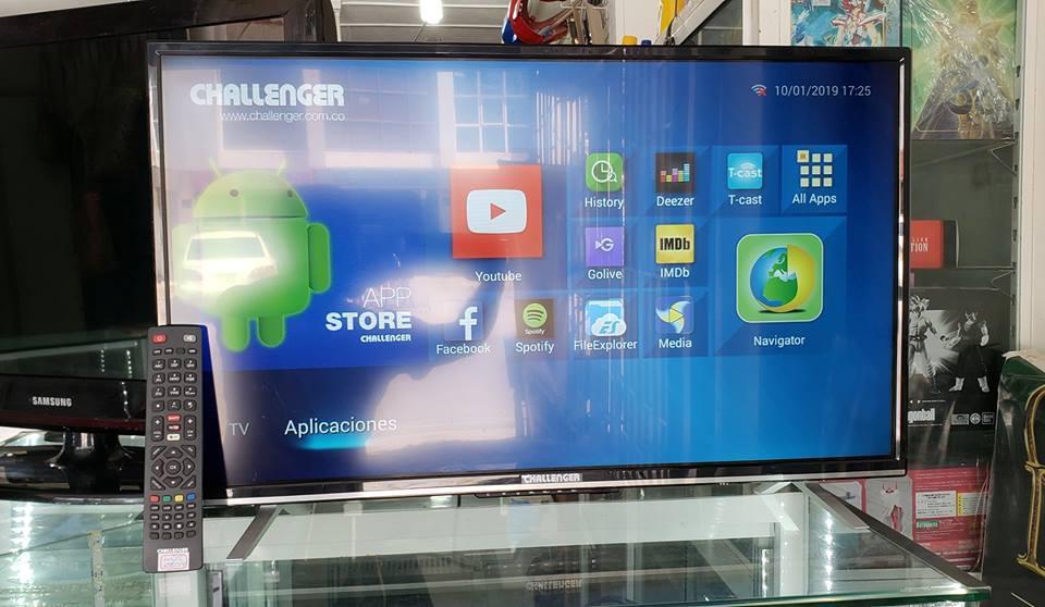 TV Challenger de 32 pulgadas TDT Android