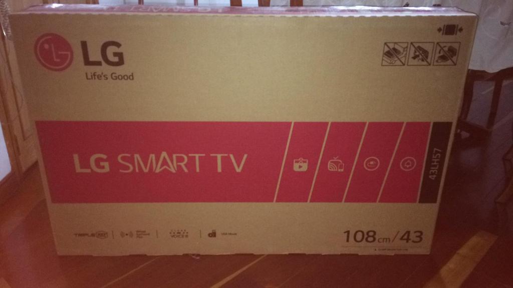 Televisor Lg Smart Tv 43 Pulgadas