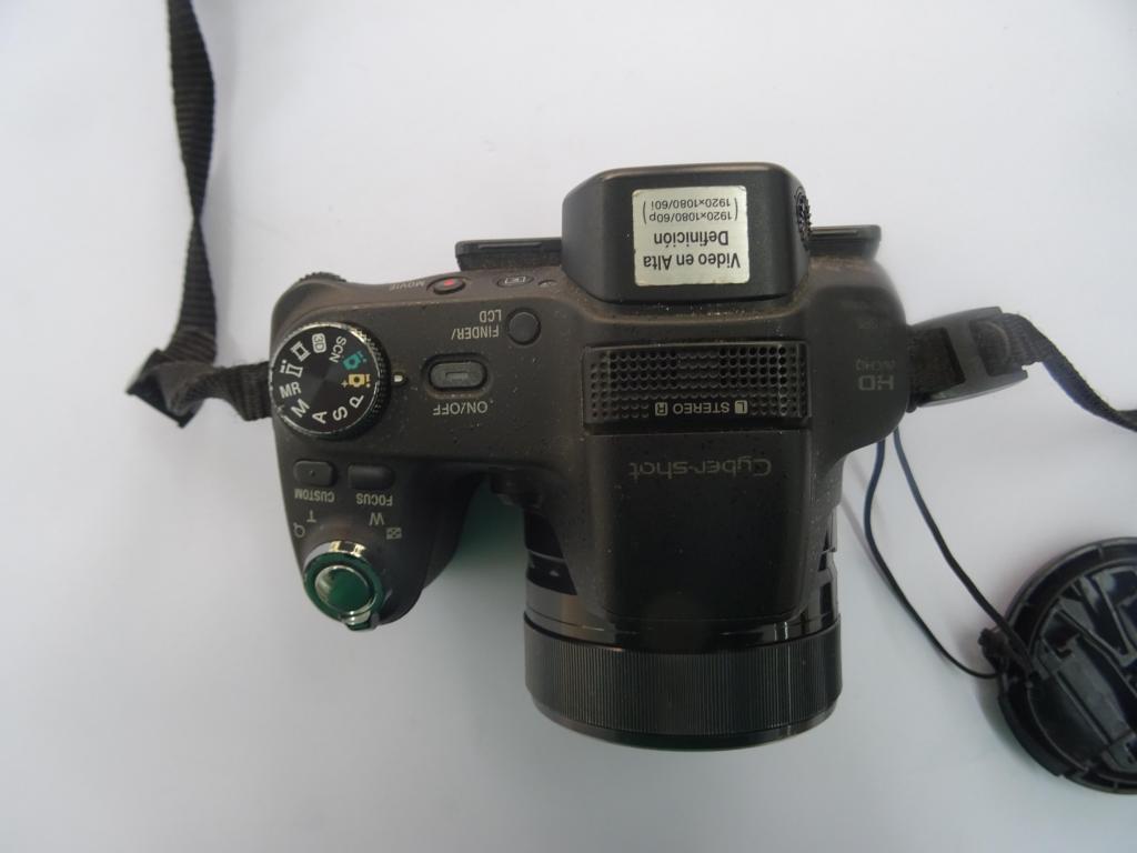 camara semiprofesional Sony cyber shot xh100v