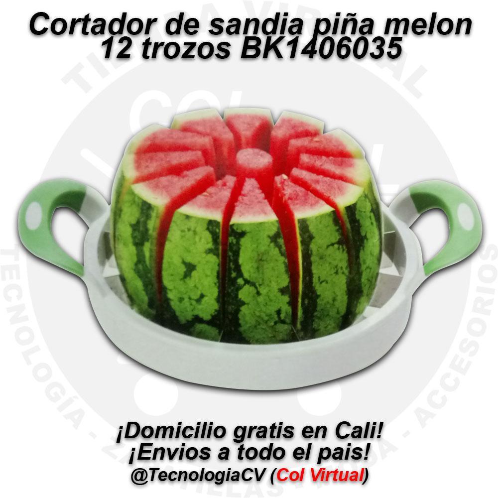 Cortador de sandia piña melon en 12 trozos BK
