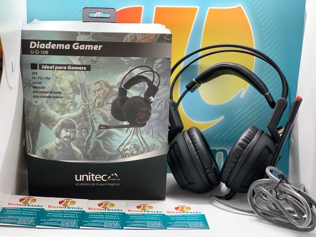 Diadema Gamer Unitec
