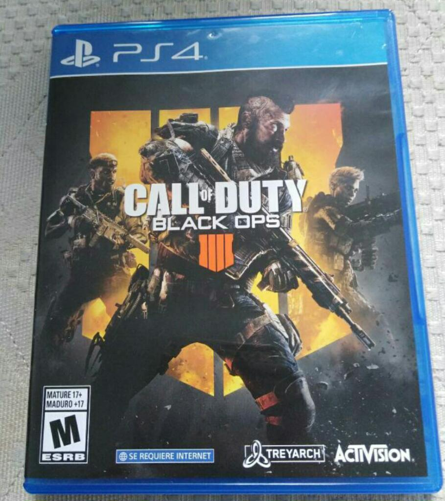 Vendo Call Of Duty 4 Y Control Ps4
