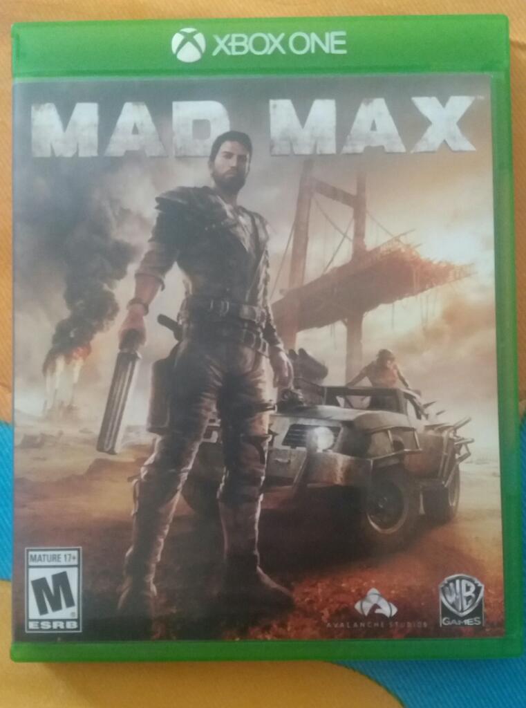 Vendo Juego de Xbox One Mad Max