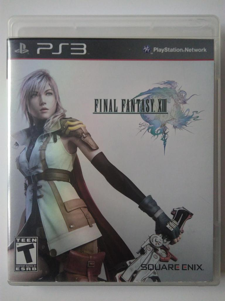Video juego Final Fantasy XIII 13 Original para Play Station