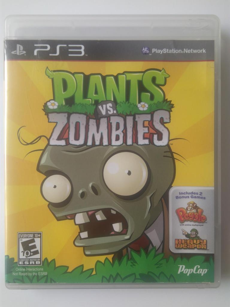 Video juego Plants vs Zombies Original para Play Station 3