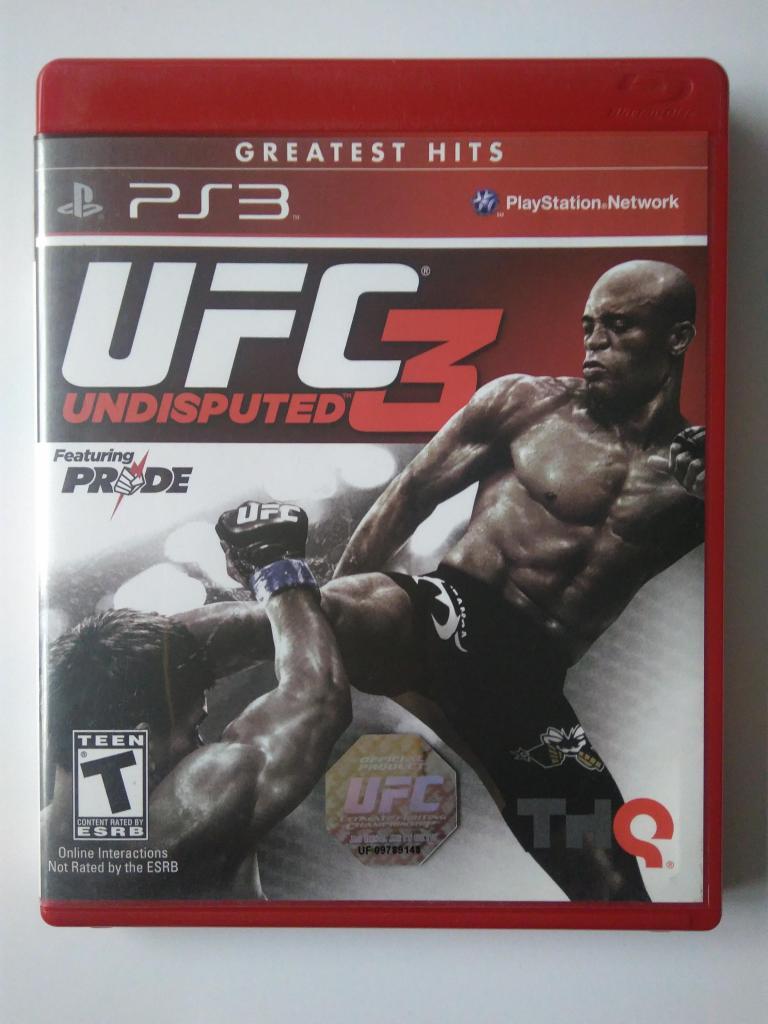 Video juego UFC Undisputed 3 Original para Play Station 3