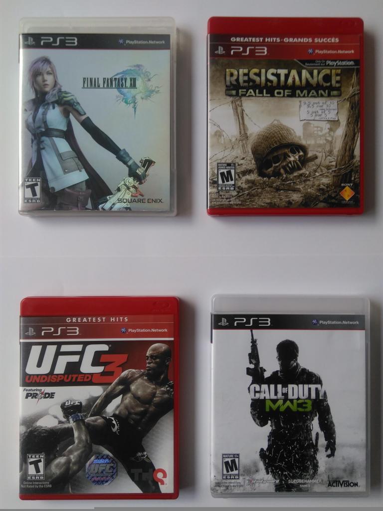Video juegos para Play Station 3 PS3 en perfecto estado