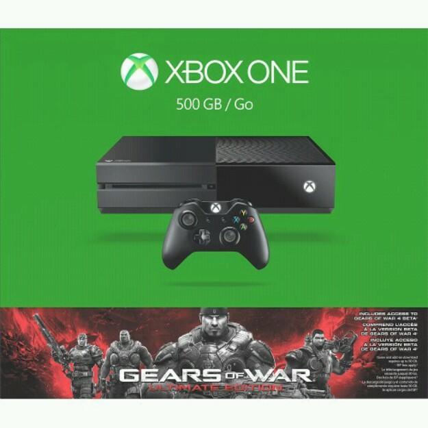 Xbox one de 500gb con 1 juego nuevos
