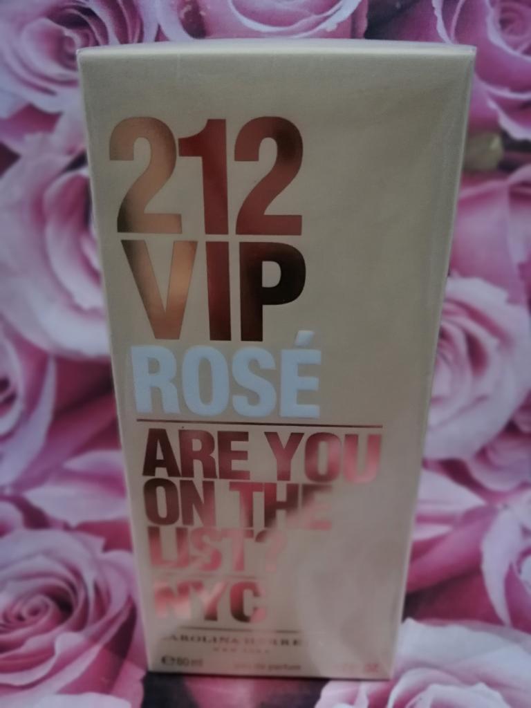 212 Vip Rose 12 Horas de Perduracion.