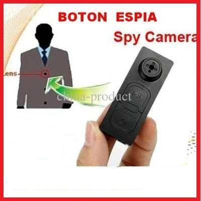 BOTON CAMARA ESPIA FOTOS VIDEOS A COLOR CON AUDIO