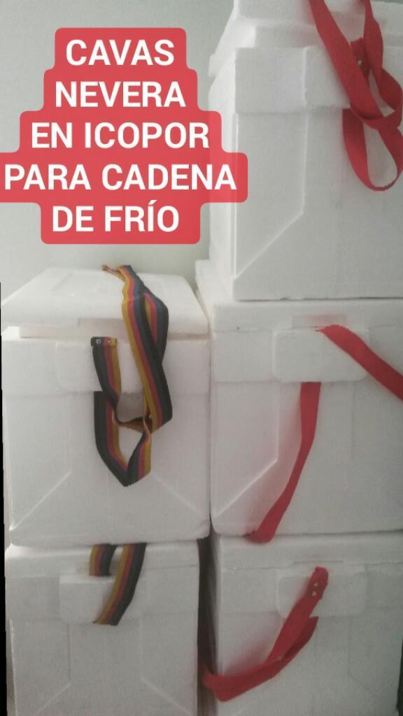 Cavas.nevera de Icopor