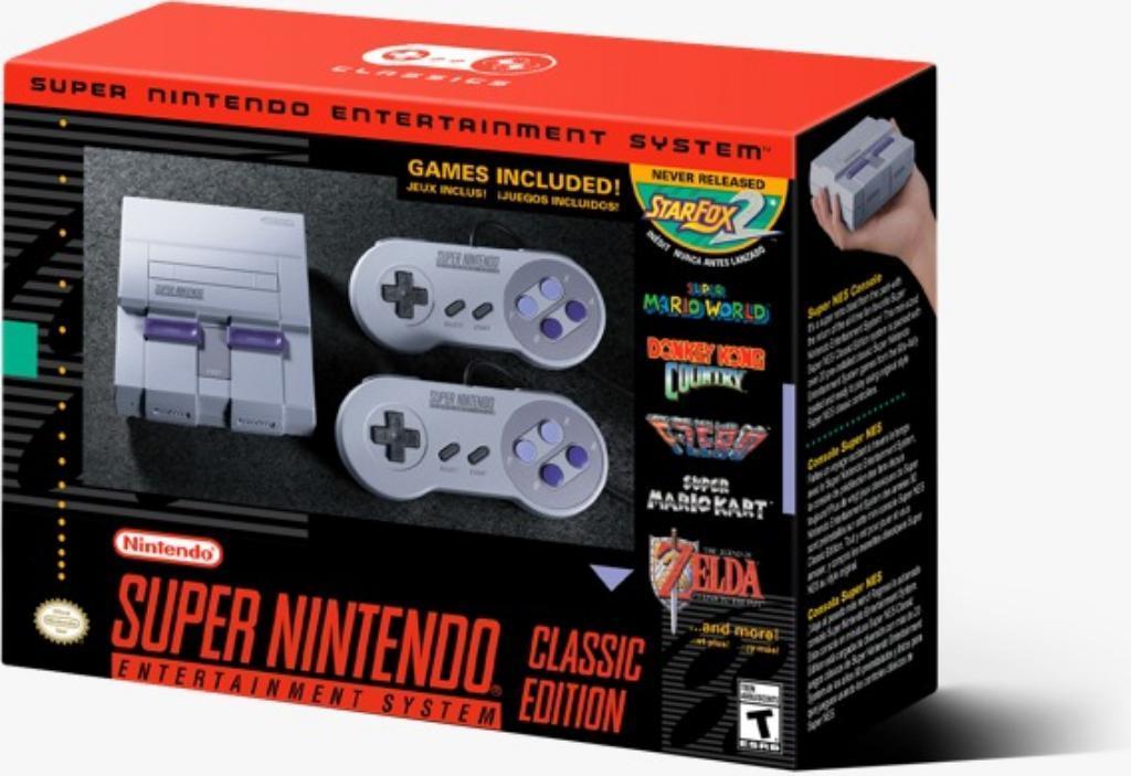 Consola Super Nintendo Classic Mini