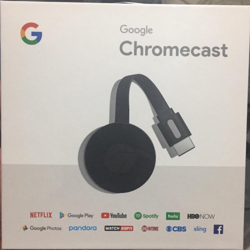 Google Chromecast oRIGINAL 2nd Generacion Nuevo Modelo