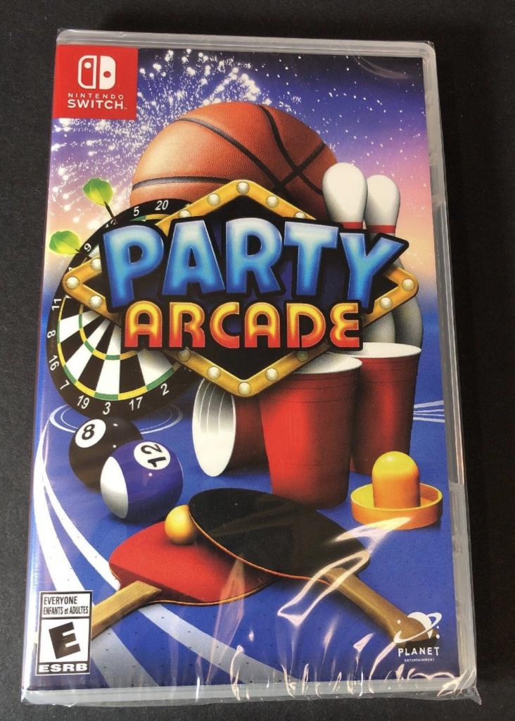 Juego Party Arcade Nintendo Switch Nuevo Y Sellado