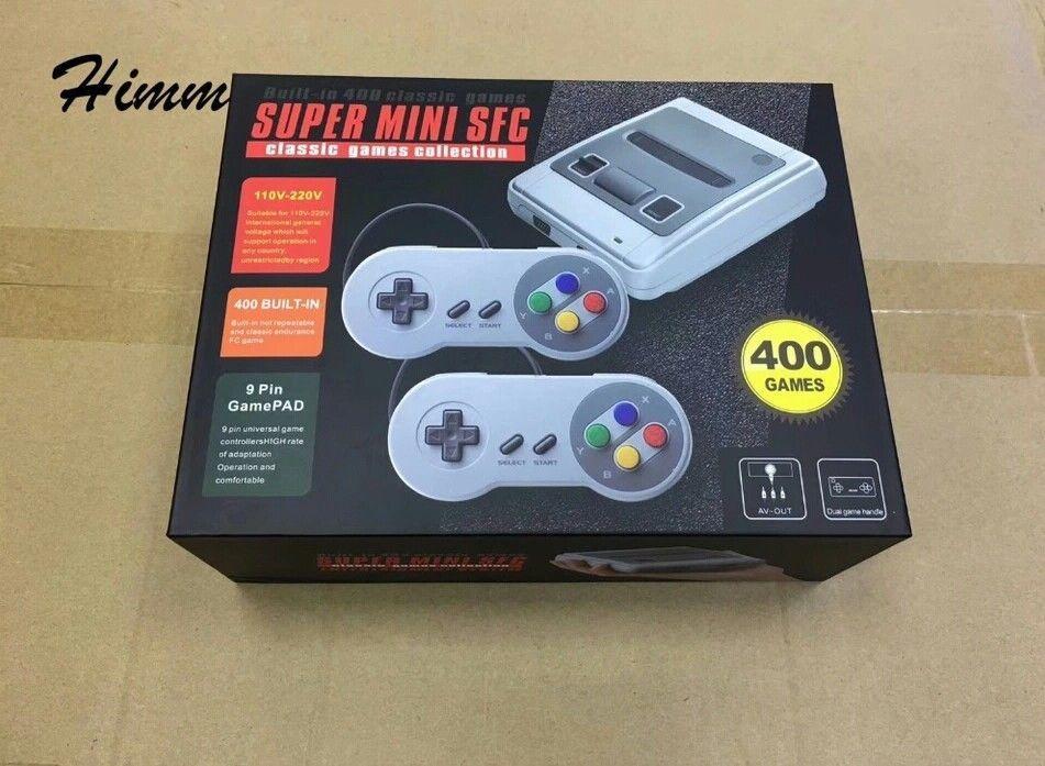Mini Consola Tv Video Juegos 400 Clásicos Nintendo Nes