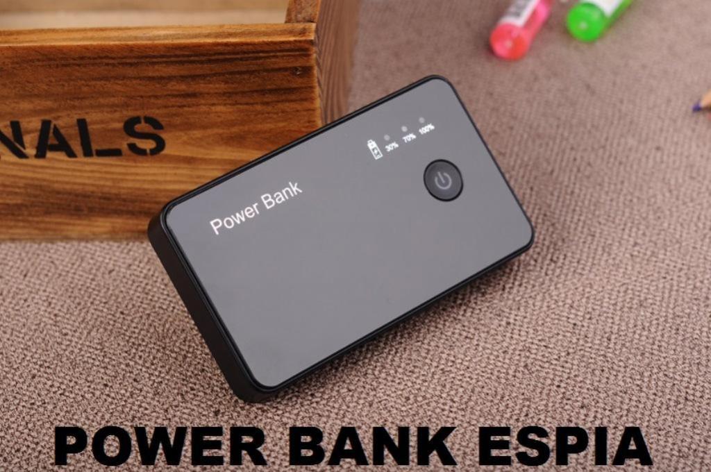 POWER BANK CAMARA ESPIA O BATERÍA ALTERNA CAMARA ESPIA
