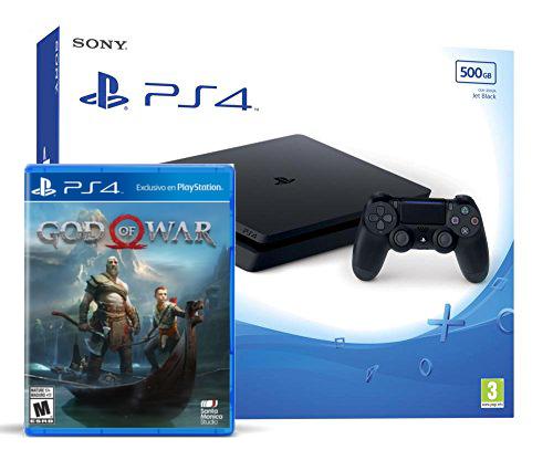 PlayStation 4 Slim 500gb programada 5 Juegos