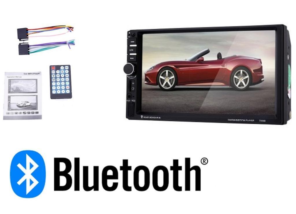 Radio Carro Mp5 Bluetooth Usb Tactil 7