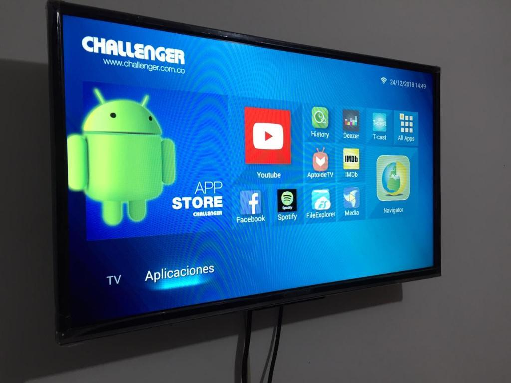 Smart Tv Challenger 32 Pulgadas