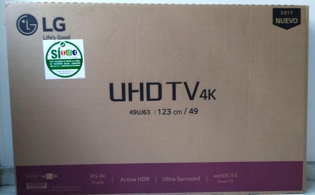 Tv 49 Pulgadas 4k Smart Tv Marca Lg