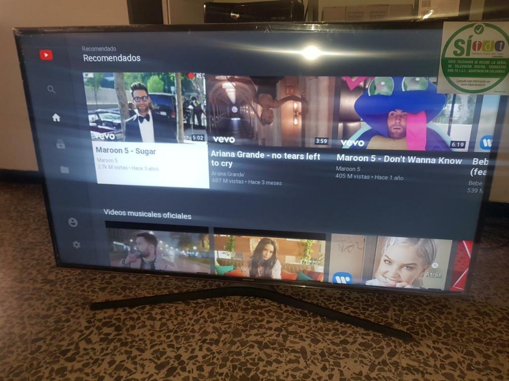 Tv Smartv Samsung 4k 55 Pulgadas