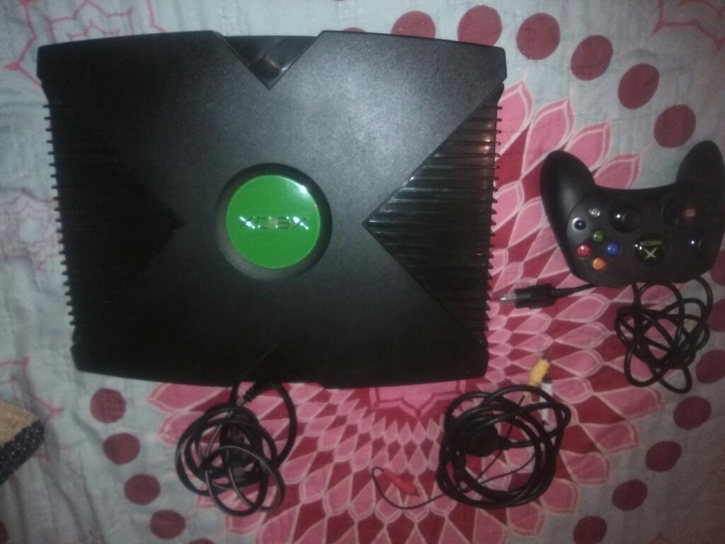 Vendo Xbox Clásico,control Nuevo