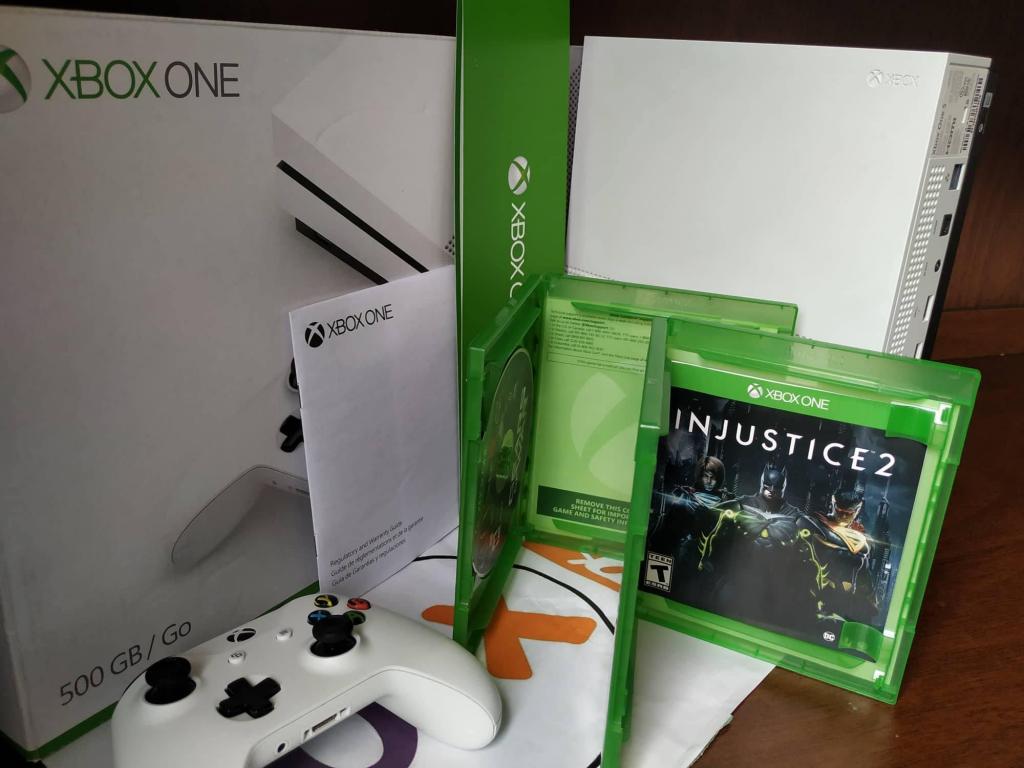 Xbox One S 500 GB Con 1 Controle Original 6 MESES De